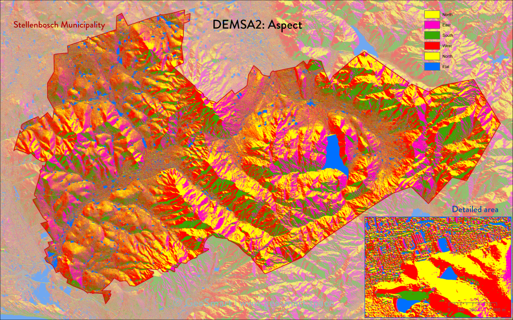 DEMSA2 Slope aspect
