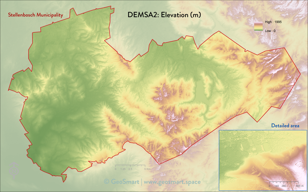 DEMSA2 Elevation