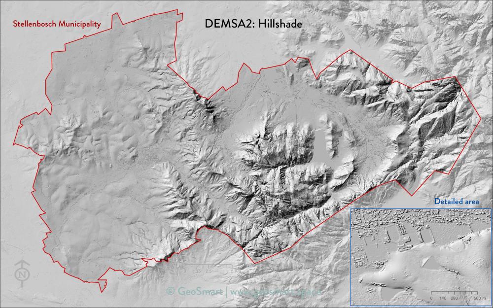 DEMSA2 Hillshade