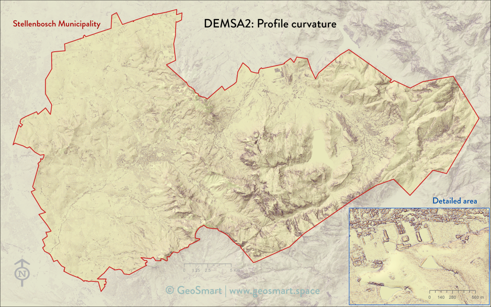 DEMSA2 Profile curvature
