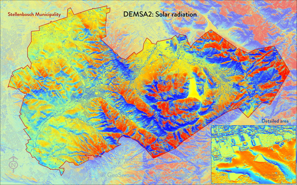 DEMSA2 Solar radiation